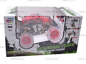 Радиоуправляемая машинка-перевертыш «Безумные гонки», 9319, цена