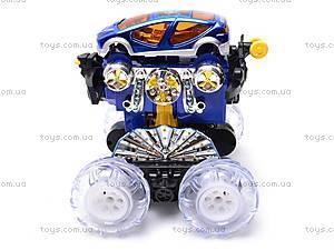 Радиоуправляемая машинка-перевертыш, детская, 9298, игрушки