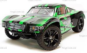 Радиоуправляемая машинка Шорт Spatha Brushed, зеленый, E10SCg, детские игрушки