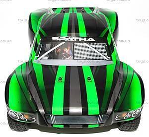 Радиоуправляемая машинка Шорт Spatha Brushed, зеленый, E10SCg, магазин игрушек