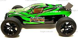 Радиоуправляемая машинка Трагги Katana Brushless, зеленый, E10XTLg, игрушки