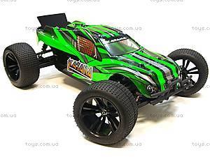 Радиоуправляемая машинка Трагги Katana Brushless, зеленый, E10XTLg, детские игрушки