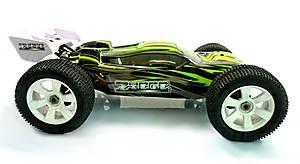 Радиоуправляемая машинка Трагги Ziege Mega Brushless, зеленый, MegaE8XTLg, купить