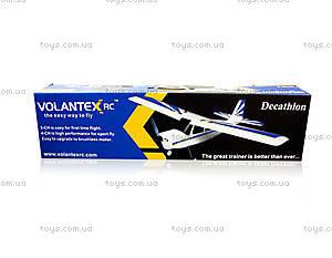 Радиоуправляемая модель самолёта VolantexRC Decathlon, TW-765-1-BL-PNP, цена