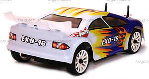 Радиоуправляемая шоссейная машинка EXO-16 Brushed, белый, HI4182b, отзывы