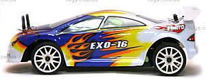 Радиоуправляемая шоссейная машинка EXO-16 Brushed, белый, HI4182b, игрушки