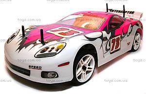 Радиоуправляемая шоссейная машинка Nascada Brushed, розовая, HI5101p