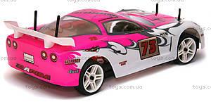 Радиоуправляемая шоссейная машинка Nascada Brushed, розовая, HI5101p, игрушки