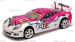 Радиоуправляемая шоссейная машинка Nascada Brushed, розовая, HI5101p, детские игрушки