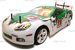 Радиоуправляемая шоссейная машинка Nascada Brushed, зеленая, HI5101g, магазин игрушек