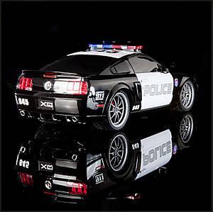 Радиоуправляемый автомобиль Ford GT500 Police Car, XQRC18-4PAA, отзывы