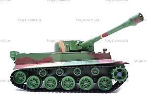 Радиоуправляемый детский танк для танковых боев, 3828B-1, фото