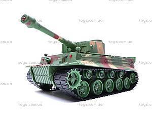 Радиоуправляемый детский танк для танковых боев, 3828B-1, игрушки