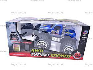 Радиоуправляемый джип «Турбо Спринт», 9000, детские игрушки