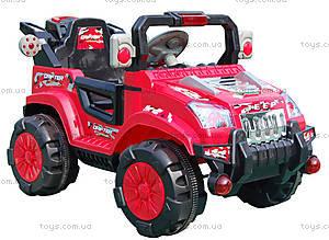 Радиоуправляемый электромобиль, красный с р/у, LQ7188-RED