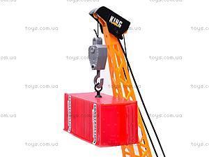 Радиоуправляемый игрушечный кран, 6803A, купить