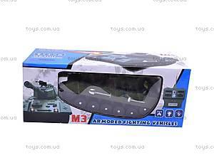 Радиоуправляемый игрушечный танк, 2820, детские игрушки