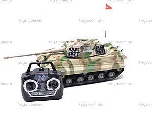 Радиоуправляемый игрушечный танк, детский, 387C