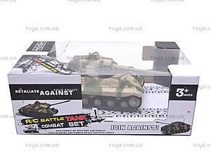 Радиоуправляемый игрушечный танк, детский, 387C, отзывы