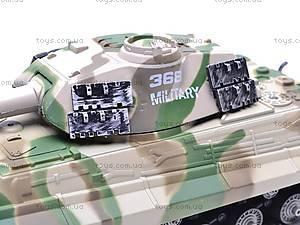 Радиоуправляемый игрушечный танк, детский, 387C, игрушки