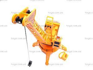 Радиоуправляемый кран, детский, 9357A, игрушки