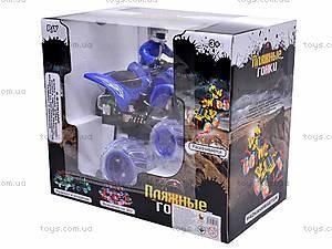 Радиоуправляемый квадроцикл с пилотом, 666-MT06, игрушки