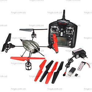 Радиоуправляемый квадрокоптер с камерой, WL-V959, toys