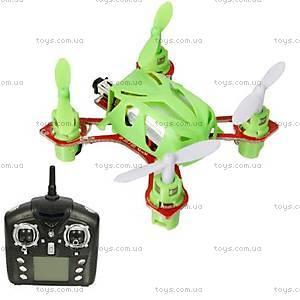 Радиоуправляемый квадрокоптер Velocity, зеленый, WL-V272g
