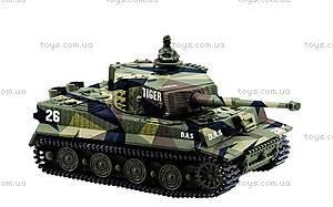 Радиоуправляемый мини-танк Tiger, GWT2117-1, магазин игрушек