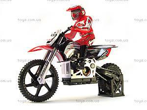 Радиоуправляемый мотоцикл Burstout Brushed, красный, MX400r