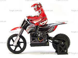 Радиоуправляемый мотоцикл Burstout Brushed, красный, MX400r, фото