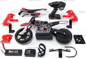 Радиоуправляемый мотоцикл Burstout Brushed, красный, MX400r, отзывы