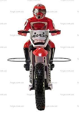 Радиоуправляемый мотоцикл Burstout Brushed, красный, MX400r, цена