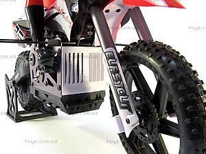 Радиоуправляемый мотоцикл Burstout Brushed, красный, MX400r, детские игрушки