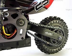 Радиоуправляемый мотоцикл Burstout Brushed, красный, MX400r, магазин игрушек