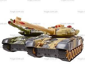 Радиоуправляемый набор танков, 9993-1, игрушки