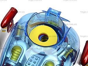 Радиоуправляемый робот стреляющий дисками, 0908, игрушки