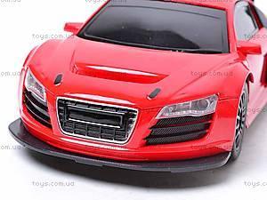 Радиоуправляемый спорткар, красный, 3688-F2ABC, іграшки