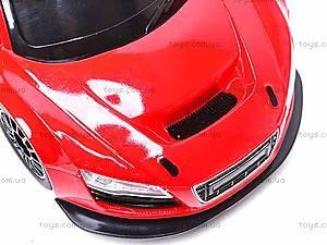 Радиоуправляемый спорткар, красный, 3688-F2ABC, детский