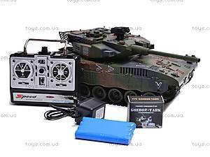 Радиоуправляемый стреляющий танк, 9362-9/10, игрушки