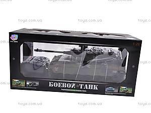 Радиоуправляемый стреляющий танк, 9362-9/10, детские игрушки