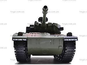Радиоуправляемый стреляющий танк, 9362-9/10, toys.com.ua