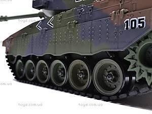 Радиоуправляемый стреляющий танк, 9362-9/10, детский