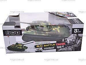 Радиоуправляемый танк, детский, 387D, игрушки