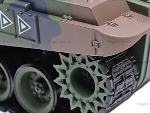 Радиоуправляемый танк для детей, 9362/4101-7/8, детские игрушки