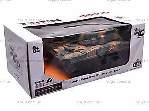 Радиоуправляемый танк на 4 канала, XJ1, фото