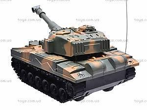 Радиоуправляемый танк на 4 канала, XJ1, игрушки