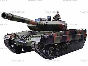 Радиоуправляемый танк, пускает дым, 3889-1