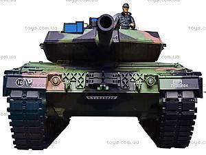 Радиоуправляемый танк, пускает дым, 3889-1, фото