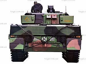 Радиоуправляемый танк, пускает дым, 3889-1, цена
